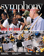 Symphony Magazine cover